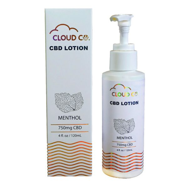 Hemp CBD Lotion Topical - CloudCo
