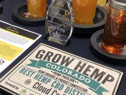 Cloud Co Farms Wins Best Hemp CBD Distillate!