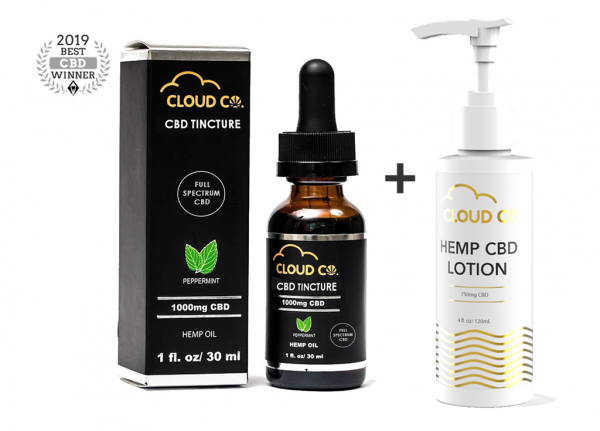 CBD DEALS - CBD Full Spectrum + CBD Lotion