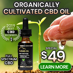 Organically Cultivated CBD OIL